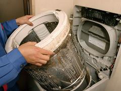 洗濯機の臭い 原因と対策