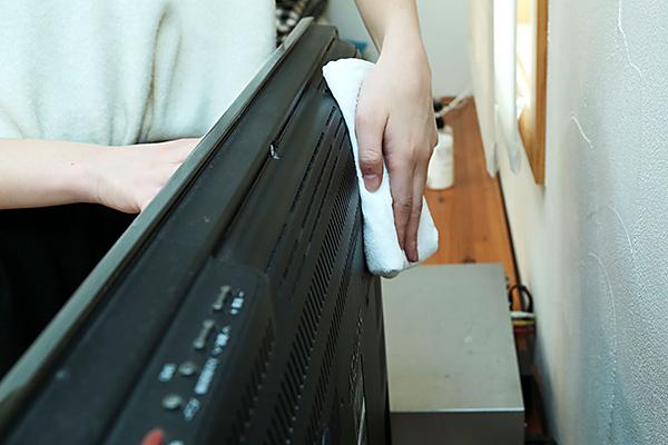 家電:お掃除方法